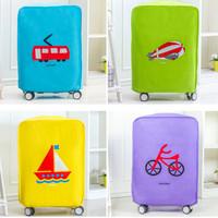 """""""28 New Korean luggage cover Cover pelindung koper tebal motif HPR111"""