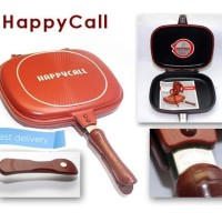 Jual HAPPY CALL double pan 32 CM Free Buku Resep - Happy Call Pan Wajan  Murah