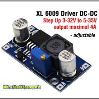 XL 6009 Driver DC-DC Step Up 3-32V to 5-35V Max. 4A