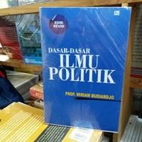 DASAR - DASAR ILMU POLITIK BY MIRIAM BUDIARDJO