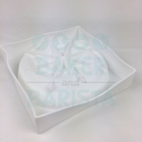 Silicone Mould White Vortex 18cm