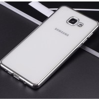 TPU SHINE Samsung A3 A5 A7 2016 soft case back cover casing silikon hp