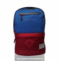 Jual Tas Bodypack- 2873 BBTN PANAMA Blue - TAS LAPTOP Murah