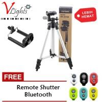 Tripod WT3110A For Pocket Camera & HP FREE Bluetooth Remote Shutter