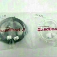 Jual Headset Earfhone LG G2/G3 QuadBeaat Original Murah
