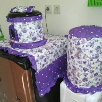 Home Set Sarung Galon, Magic Com, Kulkas Aneka Motif READY STOCK