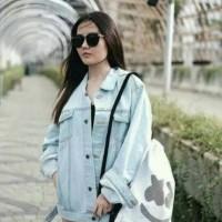Jual Jacket jeans levis oversize man and woman premium quality Murah
