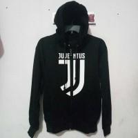 Jual Hoodie Zipper Juventus Logo ( Jaket / Sweater / Hoodie Resleting) Murah