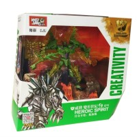 Jual Transformer 4 AOE Snarl Dinobot,Oversize-Diecast merk Weijiang Murah