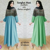 Jual Songket Maxi. CF Murah