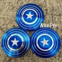 Jual SALE Fidget Spinner Captain America Blue Murah