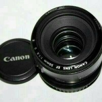 Lensa fix Canon EF 50mm f1/8