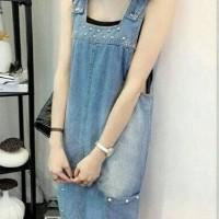Jual Virine dress overall jeans Murah