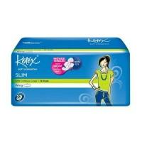 Pembalut Kotex Soft & Smooth/Pembalut Non Gel- Slim - Wing - 16 pads