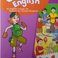 Buku Bahasa Inggris Erlangga GROW WITH ENGLISH untuk kelas 4 SD
