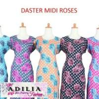 DASTER MIDI ROSES/DASTER HAMIL/DASTER PENDEK/DASTER MURAH/DASTER MAIN