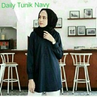 CGD daily tunik navy 1 Warna