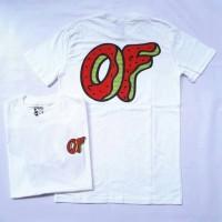 Jual Kaos T-shirt Golf Wang Odd Future Awesome Donut White Murah