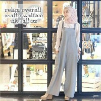 Jual baju murah terusan jumpsuit celana kulot muslim LHVG RELIGI OVERALL Murah
