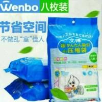 Jual Vacuum Bag Compression Bag Kantong Kompres Pree Pompa Murah Murah