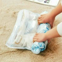 Jual Hand Roll Vacuum Bag 1 Set Isi 4pcs Tempat Penyimpanan Diskon Murah