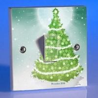 Jual Stiker Tombol Lampu Saklar Pohon Natal Dekorasi Christm  Murah
