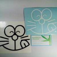 Stiker Doraemon Tutup Tangki Bensin Solar BBM Cap Fuel