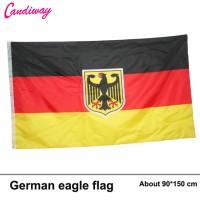 B/60 Bendera Nasional Germany Eagle Army 1,5 Meter