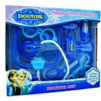 Jual Doctor Set Frozen Blue, mainan anak perempuan Murah