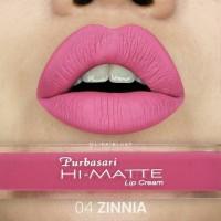 Jual Purbasari Hi Matte Lip Cream 04 Zinnia Murah
