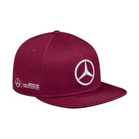 Topi Pria Jersi Clothing Mercedes-Benz Snapback Topi Pria - Marun