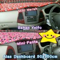 Jual Alas dashboard mobil miki mickey minnie mini mouse pink fanta merah Murah