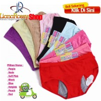 Jual Celana Dalam Khusus Untuk MENSTRUASI Anti Bocor & Anti Tembus Murah