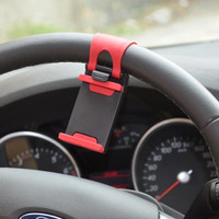 Jual BEST SELLER Lazypod Setir Mobil Car Steering Mount Holder Smartphone Murah