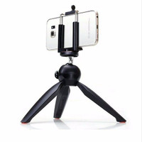Jual YUNTENG YT-228 Mini Tripod w/ Phone Holder for Digital Camera/Phone Murah