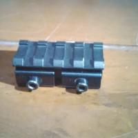 Jual Rel mounting dudukan Bipod Senter Laser Murah