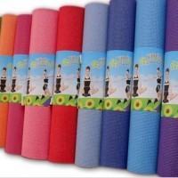 Jual Matras Yoga Mat Tebal 8 MM Olahraga Senam Camping Hiking   Tas Sarung Murah