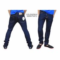 Jual Celana Panjang Pria Jeans Pensil Garment Size 27-38 Murah