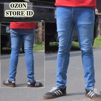 Jual Celana jeans pria / skinny jeans cowok / slim fit jeans / DC, Supreme, Murah