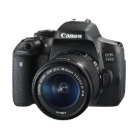 Canon EOS 750D-EF-S 18-55mm IS STM Kit Kamera DSLR