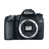 Canon EOS 70D Kamera DSLR - Hitam [Body Only]
