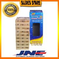 Jual HIGH QUALITY Wooden Uno Stacko Jumbo 54 Balok  Murah