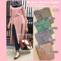 Dress Pearce Pevita Tunik Tunic Gaun Pakaian Wanita DS912