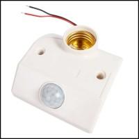 Jual Fitting Lampu E27 Otomatis Sensor Gerak + Delay Motion Light Murah