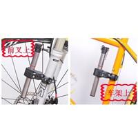 Jual DISKON Dudukan Lampu Senter Sepeda LED Lenser Bicycle Mount Clip Murah