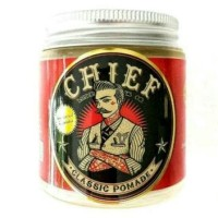 Jual [Free Sisir+Sticker] Chief Red Pomade Solid Hold 4oz Limited Murah