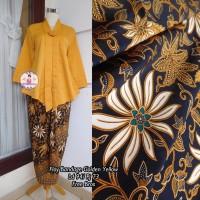 Jual TERBARU Setelan Kebaya Floy Kutu baru Bandage Golden Yellow   Murah