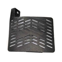 TUTUP RADIATOR CNC JUPITER MX NEW BLACK
