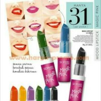 Lipstick Sophie Paris / Mood Magic Pink Lipstick / Lipstik Tahan Lama