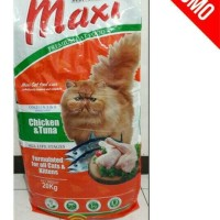 Jual GOJEK makanan kucing MAXI Cat 20Kg / 20 kg Murah